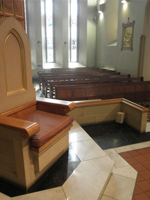 Saint Barnabas Catholic Cathedral Audio System
