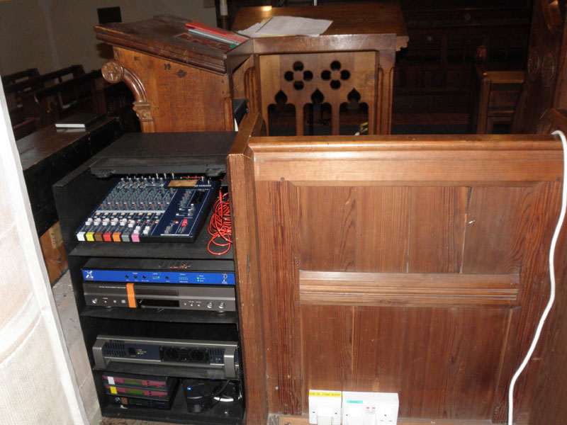 Church Audio Security Cabinet