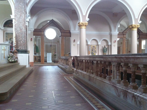 View Across Nave