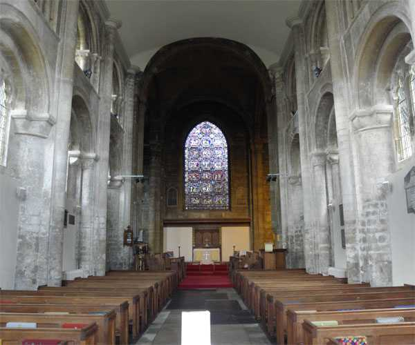 Nave from West